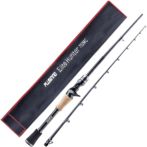 PLUSINNO Elite Hunter 7FT Fishing Rod-Casting rod