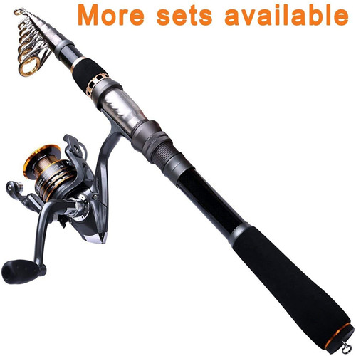 PLUSINNO Fishing Rod and Reel for Starter P-II