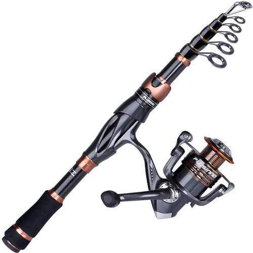 PLUSINNO Fishing Rod and Reel for Starter P-VII