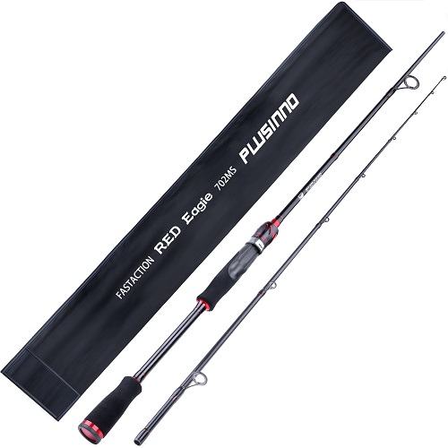 PLUSINNO Red Eagle 7FTSpinning Fishing Rod