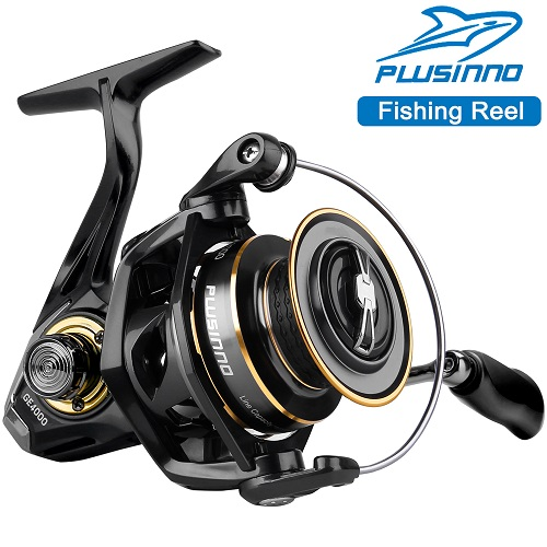 PLUSINNO Spinning Reel, 9+1 BB Fishing Reel, GE Fishing Reel
