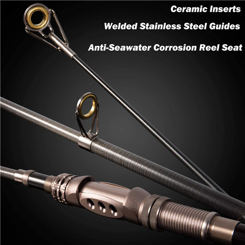 PLUSINNO Telescopic Fishing Rod Retractable Fishing Pole